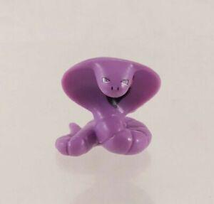 "Pokemon Arbok Purple Snake Mini .75"" Tall PK"