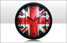 "BRITANNIA UNION JACK WALL CLOCK APPROX 9.5"". 67671"