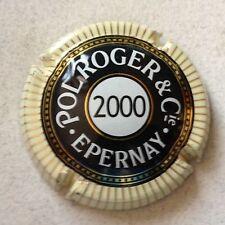 Capsule de champagne POL ROGER & C° millésime (2000)