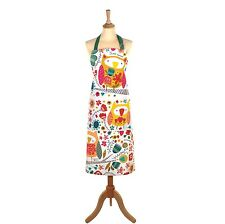 Twit Twoo Oil Cloth Apron by Ulster Weavers - Owl Design