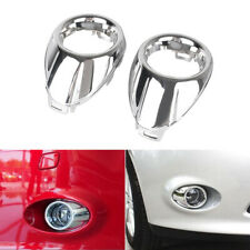 Front Fog Light Lamp Cover Cover Trim Bezel Ring for Ford Focus 2012-2013 Chrome