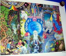 Pinturas de amaringo ( ayauasca) visiones de Carlos C. Amaringo