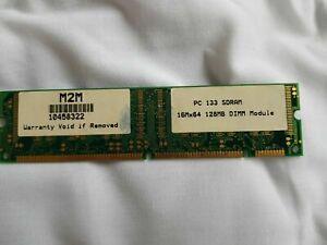 M2M Memory Module PC 133 SDRAM 128MB DIMM