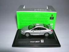 Welly Peugeot 407 Coupe silber silver Metall, 1:87 H0