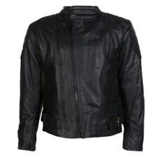 Blousons ajustable en cuir de vache epaule pour motocyclette