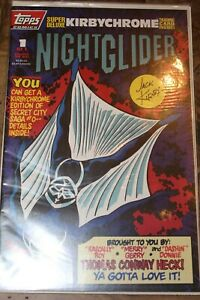 Night Glider by Topps No.1 of 1 Comic Book