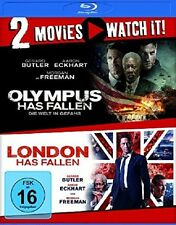 OLYMPUS/LONDON HAS FALLEN (MORGAN FREEMAN,...) 2 BLU-RAY NEU