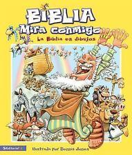 Biblia - Mira conmigo: La Biblia en dibujos Spanish Edition