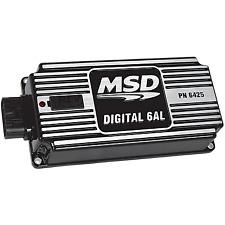 MSD 64253CR Black 6AL Ignition Control