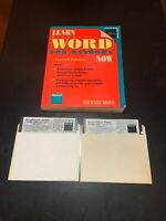 learn microsoft word for windows now 1990 With Software