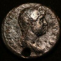 DOMITIAN IMPERIAL ROMAN AUTINIANANUS COIN  - GOOD CONDITION