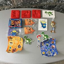 1999#VINTAGE TOY STORY 2 LOT 15x OFFICIAL GADGETS RARE