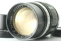 【Exc+5 / Hood】 Olympus F.Zuiko Auto-T 70mm F/2 Lens for Pen F FT FV JAPAN  #729