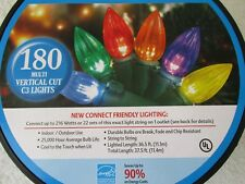 180 Multi-Color Vartical Cut C3 Lights - New W Box