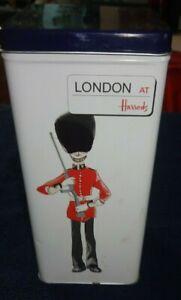 HARRODS LONDON MUSICAL TIN EMPTY