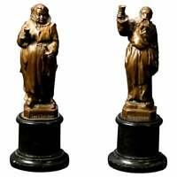 German Figural Bronze Monk Sculptures, Rudesheimer & Hochheimer, circa 1890
