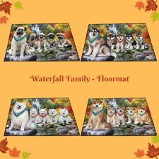 Scenic Waterfall Floormat,Dogs, Cats, Pet Photo lovers gift doormat home decor