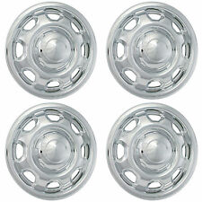 "(4) 2017 FORD F150 17"" CHROME WHEEL SKINS LINERS HUBCAPS IMP-80X"