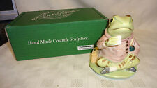 BOXED BESWICK BP-9C LIMITED EDITION LARGE GOLD FIGURE - JEREMY FISHER