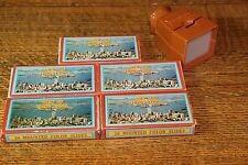 100 Vintage Circa 1950s Hong Kong Tourist Slides in original Boxes,with Viewer