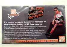 Joey Logano 2009 Home Depot Rookie of the Year Lapel Pin NEW SEALED