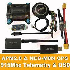 APM2.8 Flight Controller + NEO-M8N GPS, 3DR 915Mhz Telemetry, OSD, Power Module