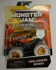 SPIN MASTER-  Monster Jam Authentic 2020 World Finals Orlando Truck 1 of 5000