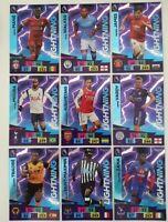 2020/21 PANINI Adrenalyn EPL Soccer Cards - Full Set of Lightning card (9 cards)