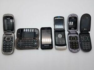 Lot of Old Cellphones - LG, Samsung, Motorola