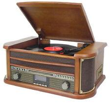 Soundmaster NR545DAB Bruin Hout Draaitafel