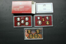 Lot of 7 Different Silver Proof Sets 2000 2001 2002 2003 2005 2006 2010 in OGP