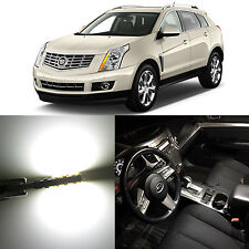 Alla Lighting 4x Map Dome Lights 175 168 White LED Bulbs for 10~16 Cadillac SRX