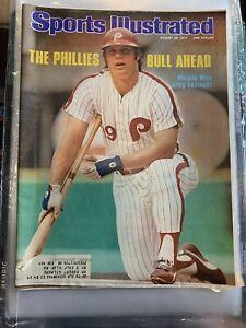 Sports illustrated Magazine August 29, 1977 Greg Luzinski
