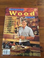 AUSTRALIAN WOOD REVIEW  Issue No. 27  TIMBER, WOODWORKING VGC