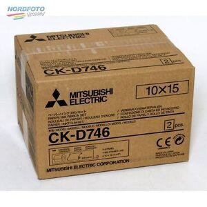MITSUBISHI CK D746 10x15cm für 800 Bilder (2x400)