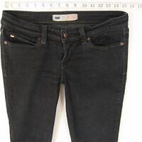 Ladies Womens Levis DEMI CURVE SKINNY Stretch Blue Jeans W30 L32 UK Size 10