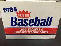 1986 Fleer Baseball Update Traded Complete Set Barry Bonds RC Will Clark NM/MT