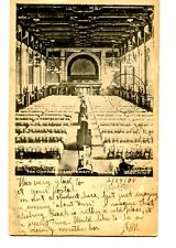 Interior-The Commons-University Hall-Yale-New Haven-Connecticut-Vintage Postcard