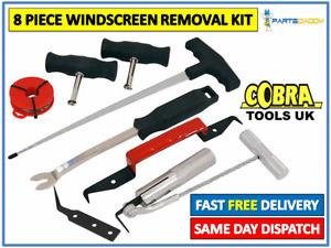 8pc Windscreen Glass Removal Set Car Van Windshield Kit Garage Hand Tool UK 6-16