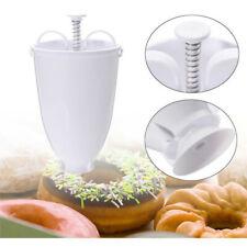 DIY Donut Maker Manual Dispenser Machine Plastic Kitchen Baking Utensil Tools