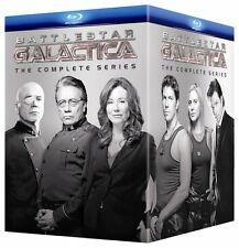 Battlestar Galactica - The Complete Series (Blu-ray Disc, 2010, 26-Disc Set)