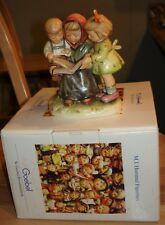 Hummel Storybook Time Figurine #458 w/Box -- Tmk-7 -- 1st Issue