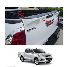 Tailgate Cap Duck Tail Spoiler Painted 1Pc Fit Toyota Hilux Revo SR5 2015 - 2017