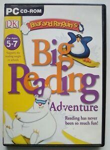 Bear & Penguin Big Reading Adventure Education Literacy English Age 5 - 7 for PC