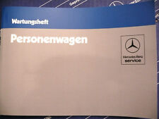 Mercedes Serviceheft / Wartungsheft W123 W126 R107 W201 alle Modelle NOS!