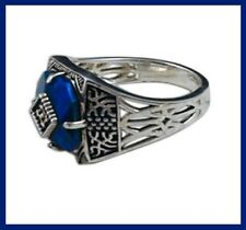 VAMPIRE DIARIES CAROLINE FORBES DAYLIGHT RING GOTHIC ROMANCE GIFT BLUE SILVER