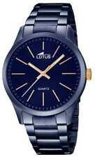 Lotus Grande Hombre Acero Inoxidable Azul 18163/2 Relojes