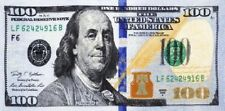 "30x60"" New $100 Dollar Bill Velour Beach Towel"