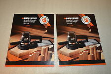BLACK & DECKER SERIOUS DO-IT-YOURSELFER CATALOG (2 Copies)(1993-1994) (JRW #080)