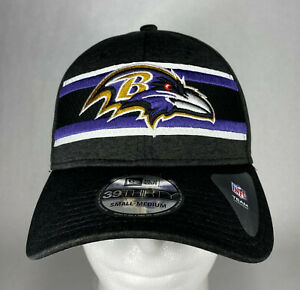 New Era NFL Baltimore Ravens Onfield 39THIRTY Stretch Fit Hat, Cap, New